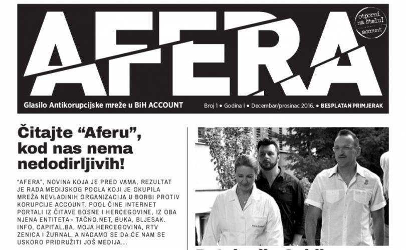 """Pročitajte zbirku tekstova o korupciji i nepotizmu """"AFERA"""" u elektronskom izdanju"""